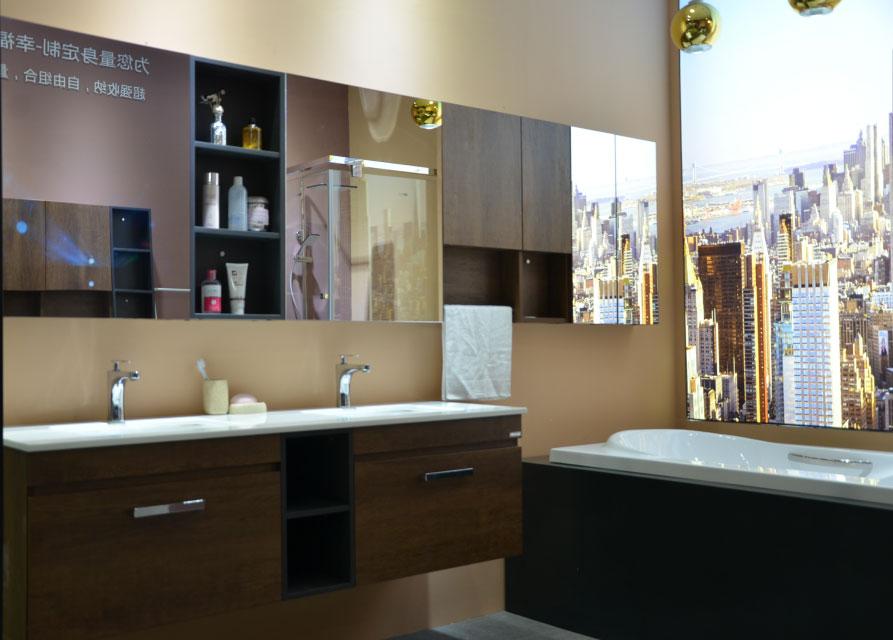 高端浴室柜定制厂家