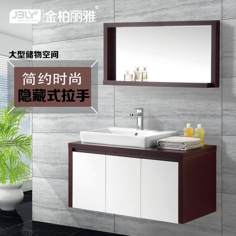浴室柜橡木好还是PVC好?PVC材料环保耐用吗?两者优缺点有哪些?