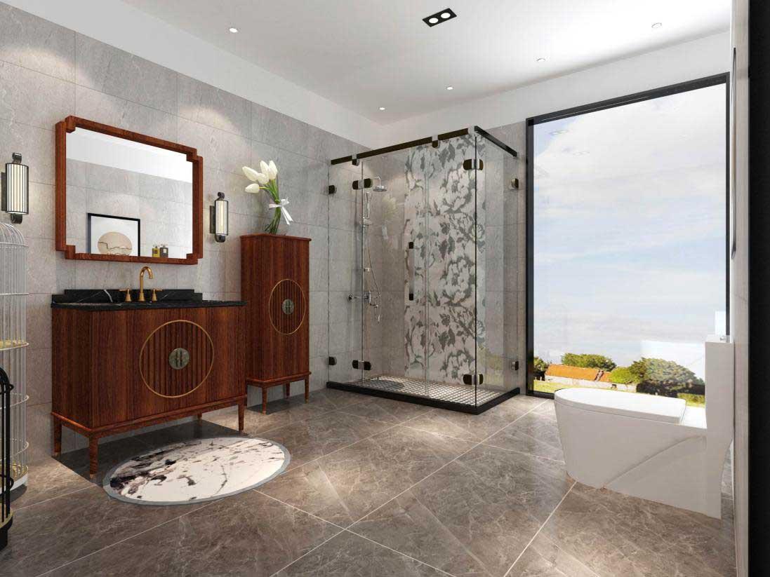 从故宫上元之夜看金柏丽雅新中式浴室柜设计案例