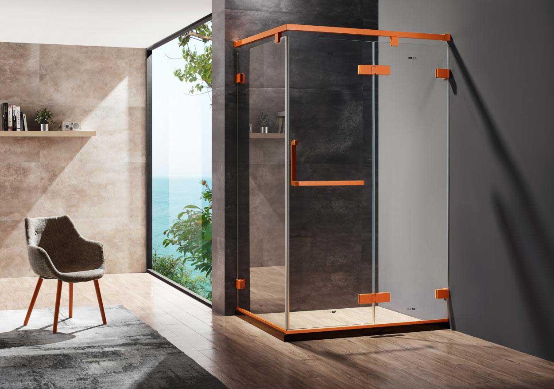 广东高端安全淋浴房定制,金柏丽雅淋浴房星辰系列