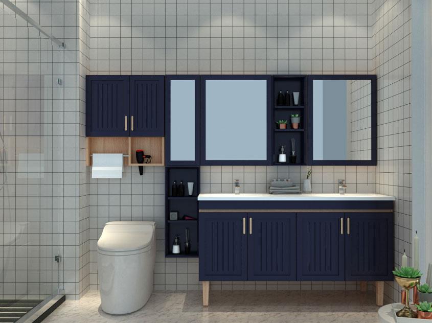 高端浴室柜定制厂家,可以定制的浴室柜厂家