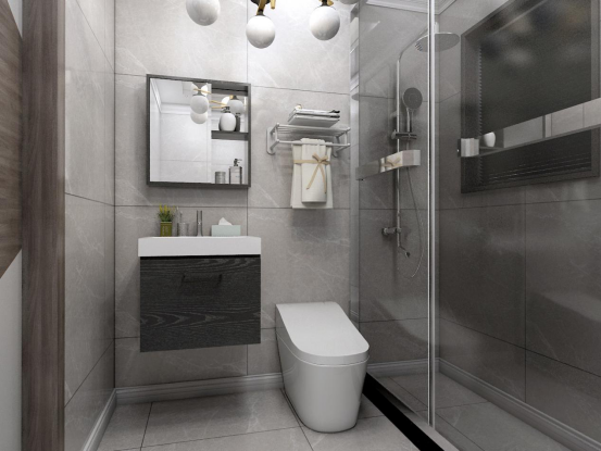 卫浴装修实战:小户型卫生间装修技巧