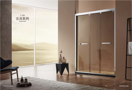 金柏丽雅淋浴房左岸系列:简约风格诠释轻奢沐浴美学