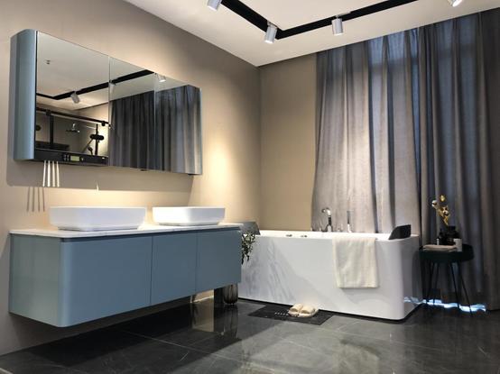 第34届佛山陶博会,金柏丽雅多功能智能浴室柜受欢迎