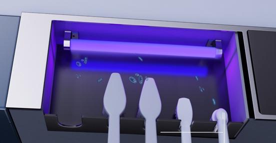 还在用牙刷消毒器?多功能智能浴室柜烘干消毒双重杀菌