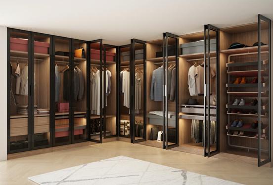 最合理的衣柜内部布局,做好这三点再也不担心衣服乱糟糟
