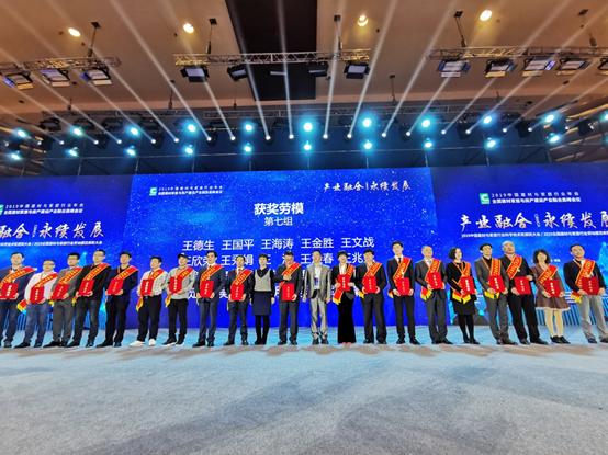 """金柏丽雅总经理王金胜荣获""""全国建材与家居行业劳动模范""""称号"""